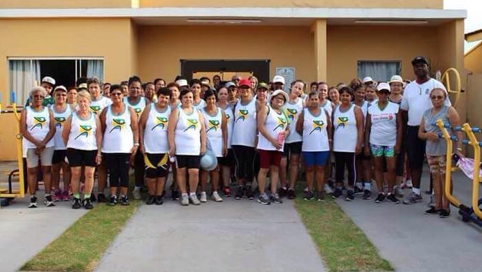 Mulheres Pirapózinho Academia da Saúde Eu Atleta (Foto: Cedida)