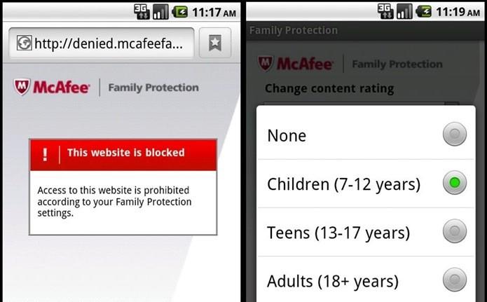 Mcafee Family Protection possui configuração simples (Foto: Divulgação)