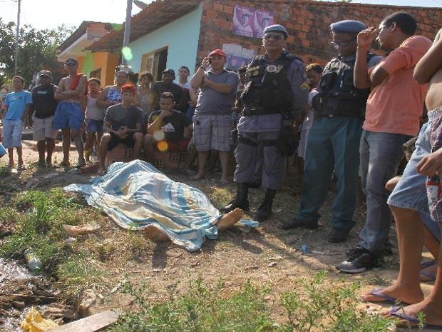 amerson Augusto Moraes Vieira, de 25 anos, foi morto a tiros  (Foto: Biné Morais / O Estado)