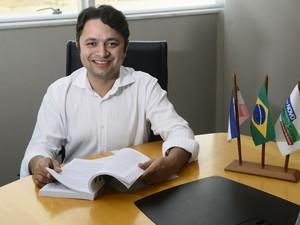 Vandinho Leite é pré-candidato no espírito Santo (Foto: Ricardo Medeiros/A Gazeta)