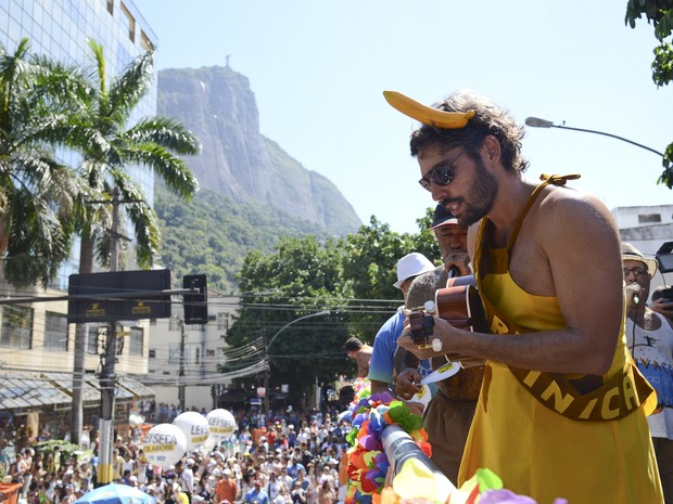 Bloco Suvaco do Cristo no Jardim Botânico (Foto: Raphael Dias/Riotur)