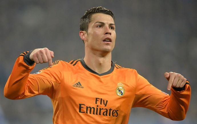 Cristiano Ronaldo Schalke 04 x Real Madrid (Foto: AP)