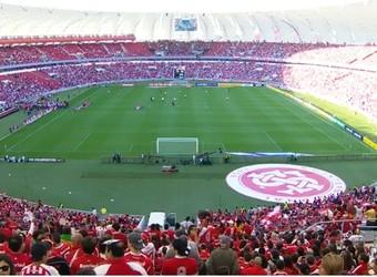 Beira-Rio ficou cheio na volta do Inter a sua casa (Foto: Reprodução)