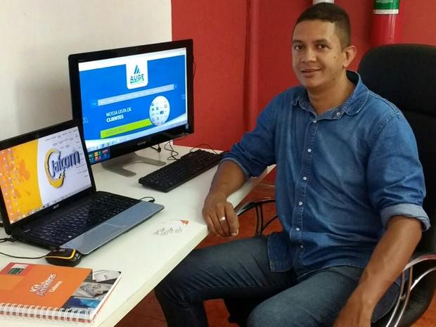 Júlio passou a tomar conta de apenas um negócio após consultorias (Foto: Arquivo Pessoal/Júlio César Farias)
