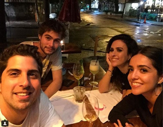 Gabriel Louchard, Rafael Vitti, Tatá Werneck e Natalia Paes (Foto: Reprodução Instagram)