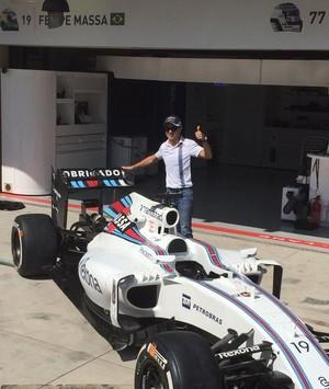 Carro Felipe Massa GP Brasil (Foto: Marcelo Prado)
