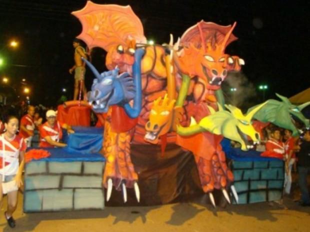 Carnaval Rolim de Moura (Foto: Rolnews.com/Divulgação)