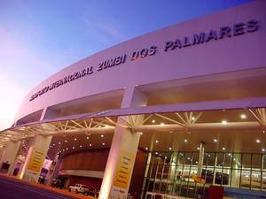 Aeroporto Internacional Zumbi dos Palmares (Foto: Luis Eduardo Vaz/Setur-AL)