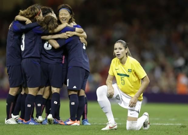 futebol feminino (Foto: Luca Bruno/AP)