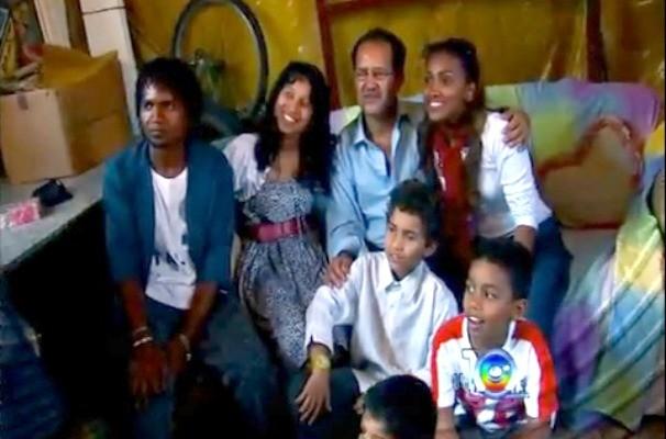 Revista de Sábado mostrou o emocionante reencontro da família Rufino (Foto: Reprodução / TV TEM)