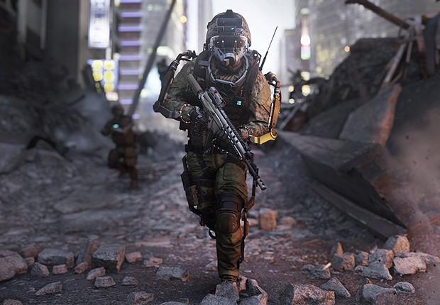 Cena do jogo Call of Duty (Foto: Divulgação)