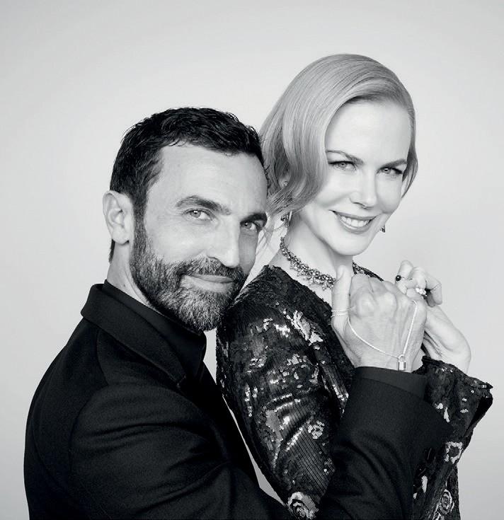 Nicolas Ghesquière e Nicole Kidman na campanha #MakeaPromisse (Foto: Jacques Dequeker)