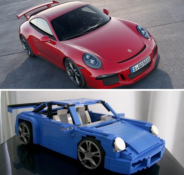 Porsche 911 recriado por estudante de engenharia (Foto: Divulgação / Arquivo Pessoal)