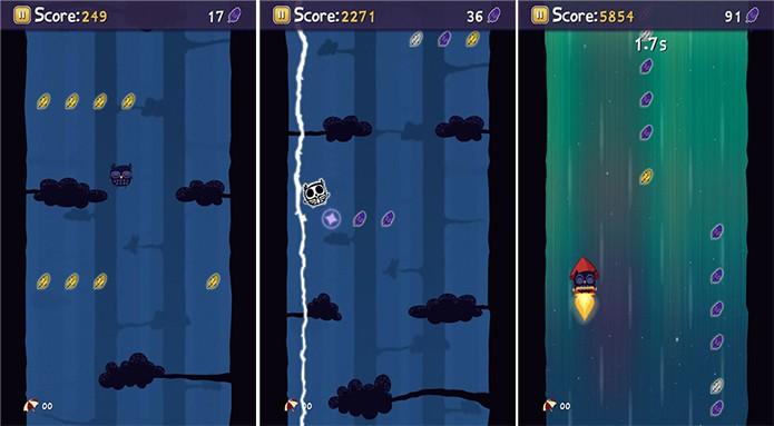 Coruja é um game no qual usuário deve ajudar uma pobre ave a chegar mais alto (Foto: Divulgação/Windows Phone Store)