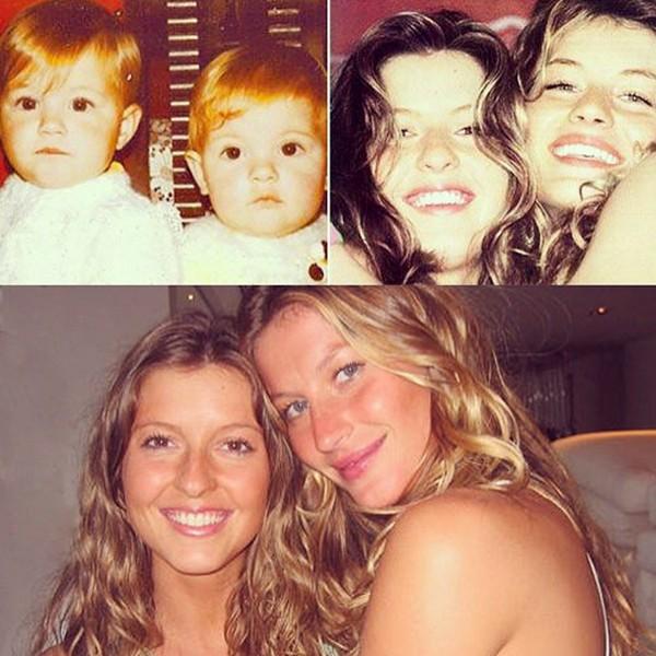 Gisele Bundchen e irmã Patrícia (Foto: Reprodução/Instagram)