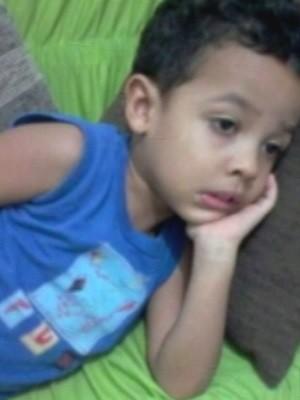 Miguel Santos Diniz morreu durante espera por vaga de UTI em Caldas Novas Goiás (Foto: Reprodução/TV Anhanguera)