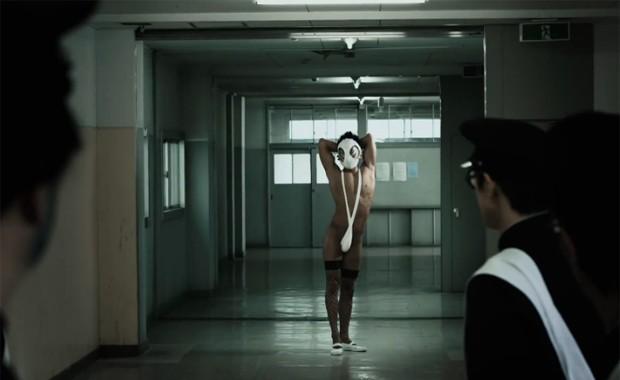 Cena do trailer do filme japonês 'HK: Hentai Kamen' (Foto: Divulgação)