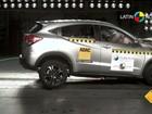 Honda HR-V ganha 5 estrelas em teste de colisão; veja