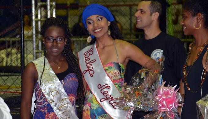 Ana Carolina Bueno foi a vencedora do concurso Beleza Negra 2014 (Foto: Tiago Campos)