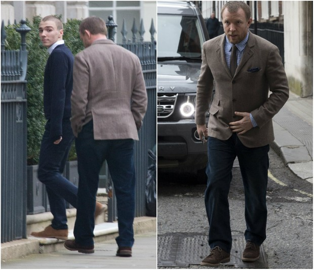 Rocco e Guy Ritchie (Foto: Grosby Group/AFP)