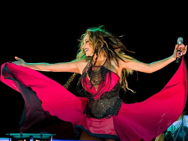 Daniela Mercury comanda o Baile da Rainha Má no Recife' (Foto: Celia Santos / Divulgação)