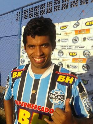 Atacante Vinicius não se opõe a possível chegada de Bruno (Foto: Cida Santana/Globoesporte.com)