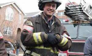 Bastidores da 4ª temporada de Chicago Fire.