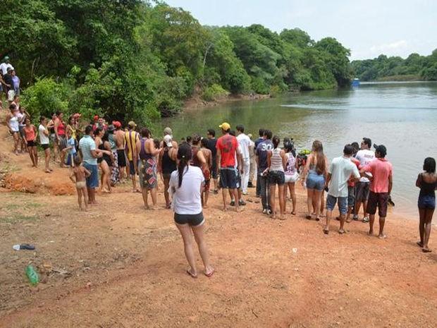 Banhista de 22 anos também morreu afogado no Rio Teles, região Norte do estado (Foto: site MT Notícias)