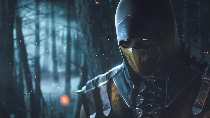 Mortal Kombat X: veja o Scorpion no trailer do novo game (Foto: Divulgação)