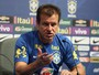 Dunga cita caso Marcelo e promete: ''O doutor vai mostrar as mensagens''