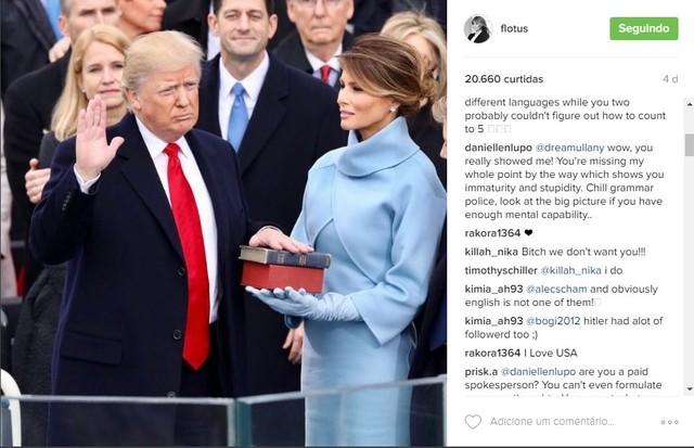 Melania tem nova conta no Instagram (Foto: Reprodução/Instagram)
