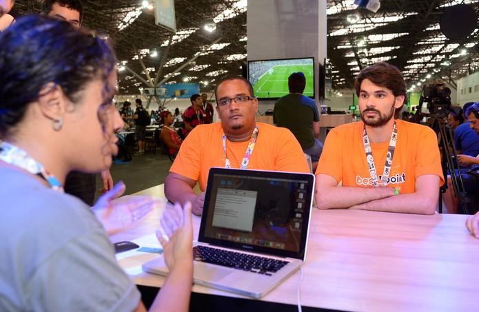 Durante a feira, novos aplicativos inovadores surgiram (Foto: Divulgação/ Globo)