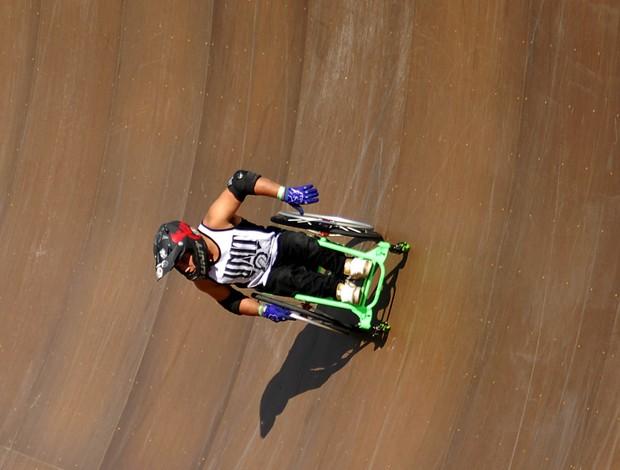 Wheelz cadeirante megarampa (Foto: André Durão / Globoesporte.com)