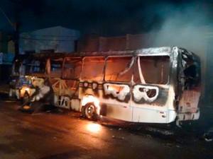 Terceiro incêndio ocorreu no terminal do Golandim, em São Gonçalo do Amarante (Foto: Divulgação/Polícia Militar do RN)