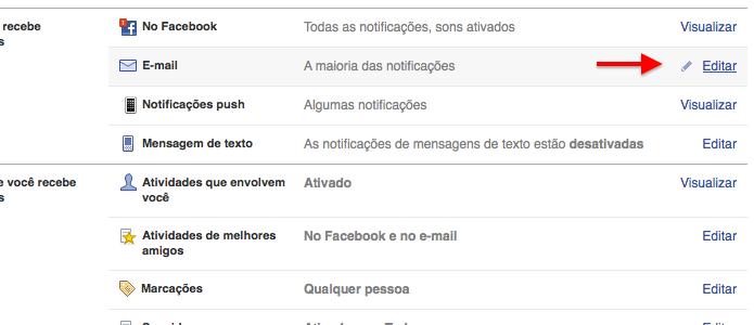 Configurando notificações por e-mail (Foto: Reprodução/Helito Bijora)