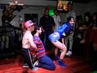 Tati Zaqui, capa da 'Playboy' de julho, dança sensual com fãs em show