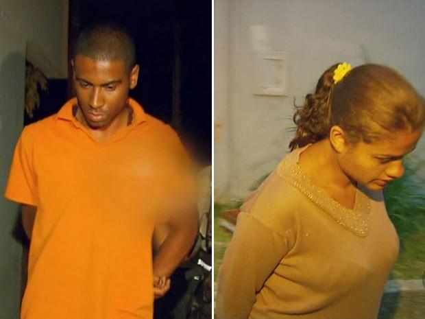 Casal foi condenado a 22,6 e 19,3 anos de prisão, respectivamente (Foto: Reprodução EPTV)