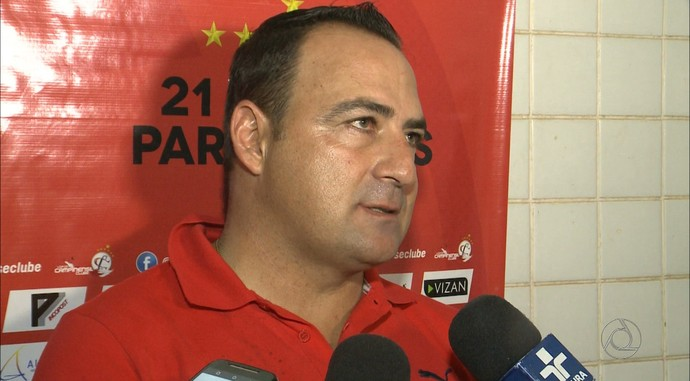 Paulo Foiani, Campinense (Foto: Reprodução / TV Paraíba)