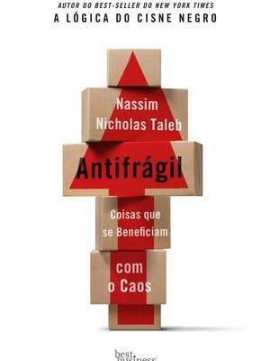 Livro Antifrágil, de Nassim Nicholas Taleb (Foto: reprodução)