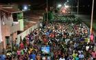 Veja como foi o carnaval em Macau (Canindé Soares/G1)