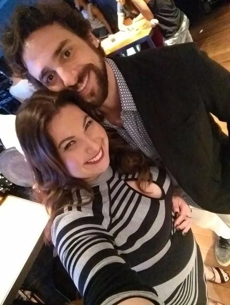 Mariana Xavier e Danilo Sacramento (Foto: Arquivo pessoal)