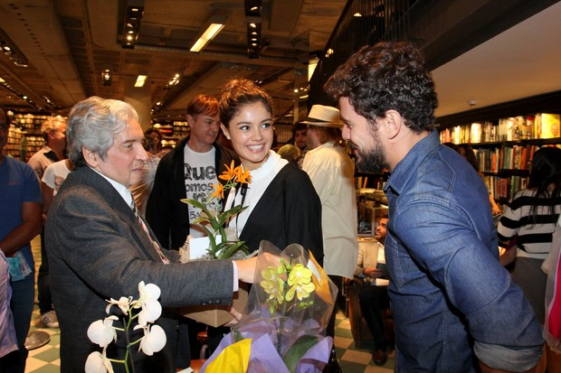 Sophie Charlotte e Daniel Oliveira (Foto: Alex Palarea/AgNews)