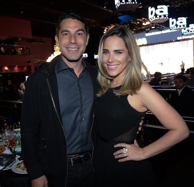 Marcos Buaiz e Wanessa Camargo (Foto: Francisco Cepeda/AGNews)