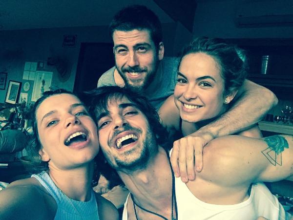 Bruna Linzmeyer, Pedro Nercessian, Fiuk e Lua Blanco (Foto: Reprodução/Instagram)