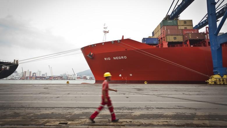terminal_portuario_navegantes_portonave_porto (Foto: Marcelo Curia/Ed. Globo)
