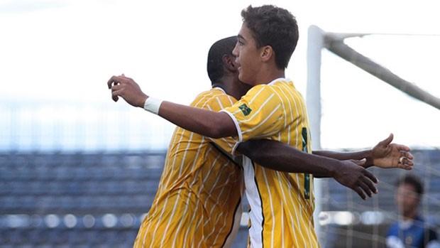 Romarinho gol Brasiliense (Foto: Site Oficial do Brasiliense)