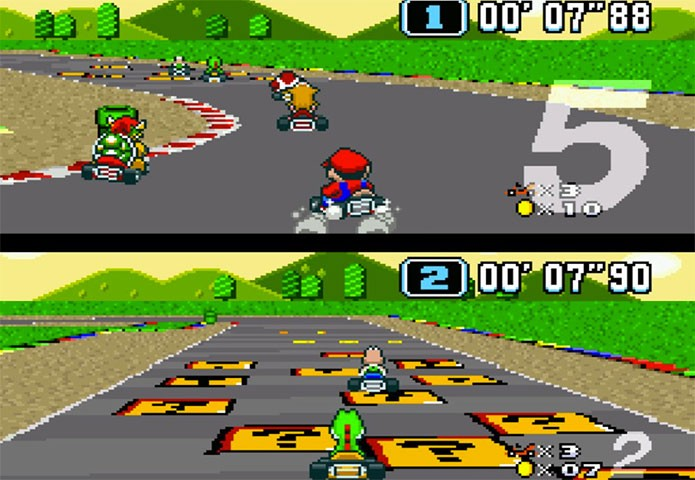 Super Mario Kart (Foto: Divulgação)