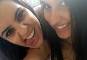 Allice e Cecilia Tirolla The Voice Brasil (Foto: Arquivo pessoal)