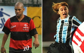 Memória: Paulo Nunes brilha, e Grêmio goleia Atlético-MG no Brasileiro de 96
