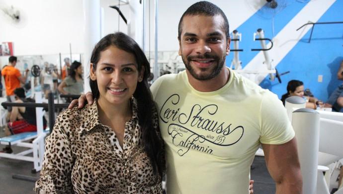 Sabrina e João Gabriel (Foto: Hugo Crippa)